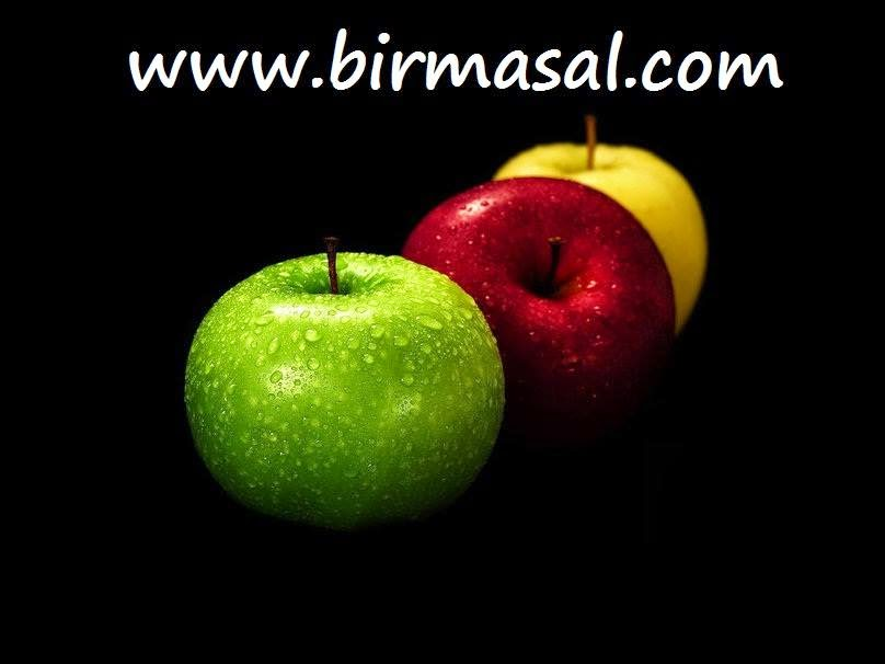 gokten dusen elma masali