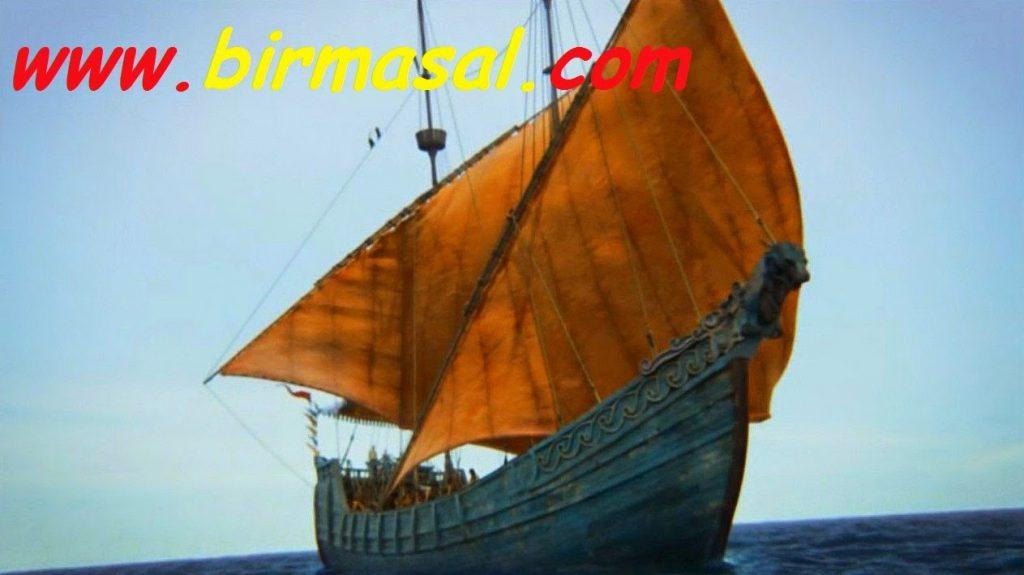 kolenin gemi yolculugu masali