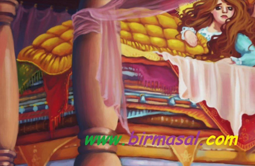 prenses ve bezelye masali