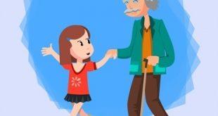 Aylin ve Dedesi Trene Biniyor