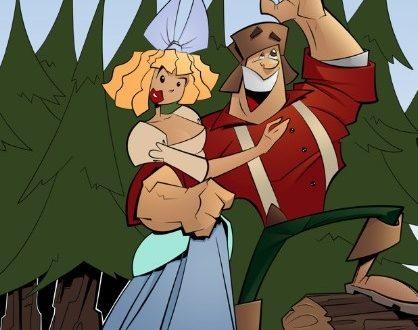 Oduncu ve Eşi